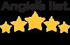 Angies List 5 Star Rating